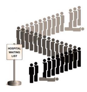 Hospital waiting list